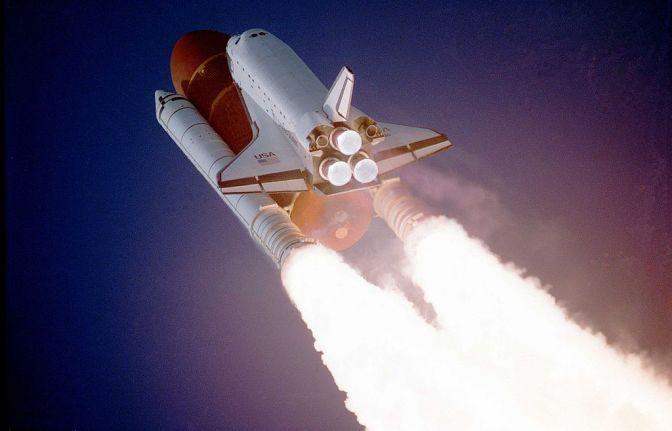 WATCH: Booster eye-view of a Shuttle launch