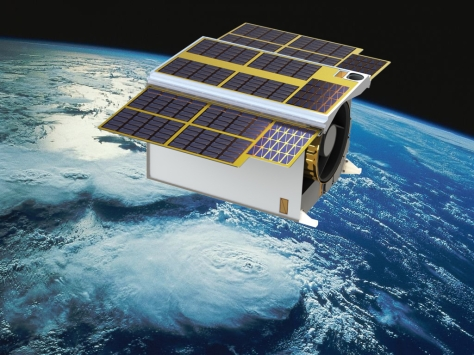 Artist's impression of the South African-developed satellite Phoenix-20 HS in orbit