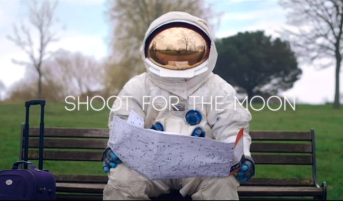WATCH: Shoot for the Moon!